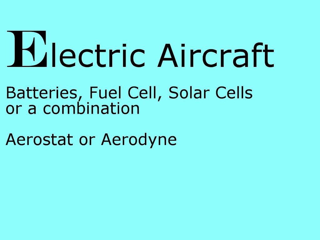 Glossary of Alternative Aviation | Timothy Gwyn Writes