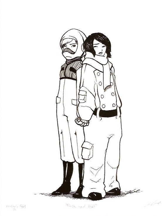 Raisa and Mel 75